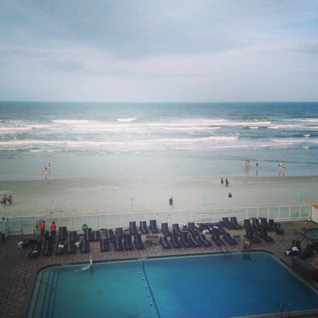 Holiday Inn Resort Daytona Beach Oceanfront: View from our room