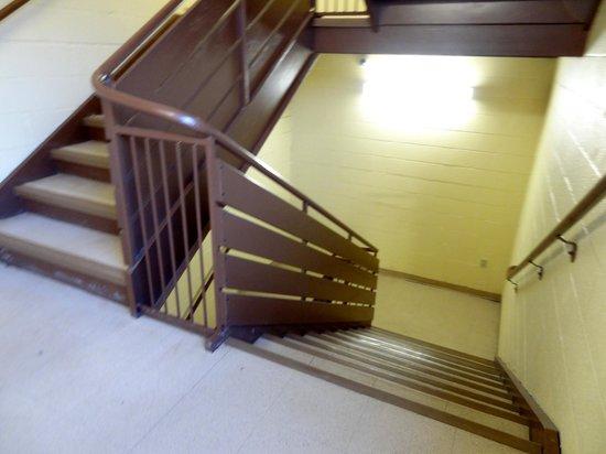Comfort Inn & Suites: Emergency stairs