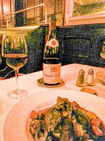Orsay: admirable food/wine