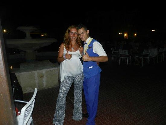 IBEROSTAR Playa Alameda Hotel: Yaciel, excelente atención y onda siempre con una sonrisa. Los tragos llueven con el!