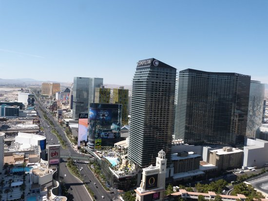 Eiffel Tower Experience at Paris Las Vegas : Great Views