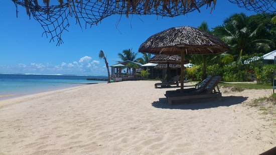 Savaii Lagoon Resort : The beach
