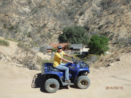 Cabo San Lucas Tours: Riding back from La Candelaria