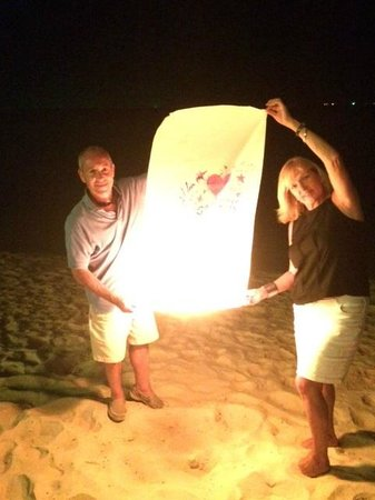 "Secret Garden Beach Resort: Launching a ""Lucky Lantern"""