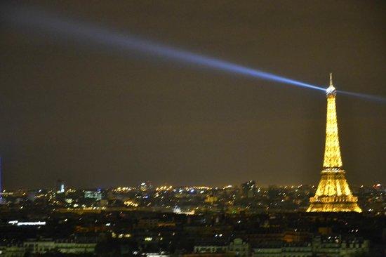 Hyatt Regency Paris Étoile: La vista dalla nostra camera