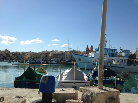 Qawra Point Holiday Complex : Marsaxlokk fishing village