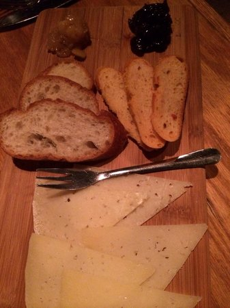 Tapas on Main: Manchego appetizer