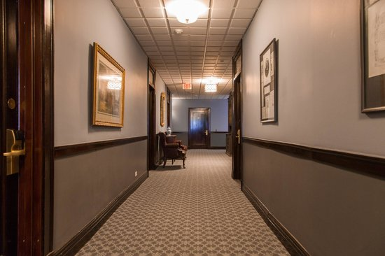 Margarita European Inn, an Ascend Hotel Collection Member: Remodeled Hallway. We saved the original woodwork
