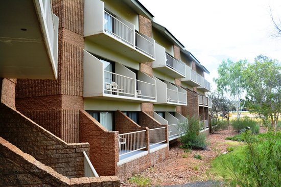 DoubleTree by Hilton Hotel Alice Springs: That's us down the bottom