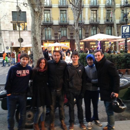 End of a GREAT tour with BrightSide - Barcelona Sidecar Tours