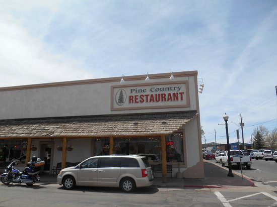 Pine Country Restaurant: View from the street
