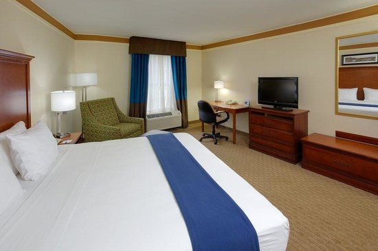 Holiday Inn Express Hotel & Suites: King Bed Guest Room