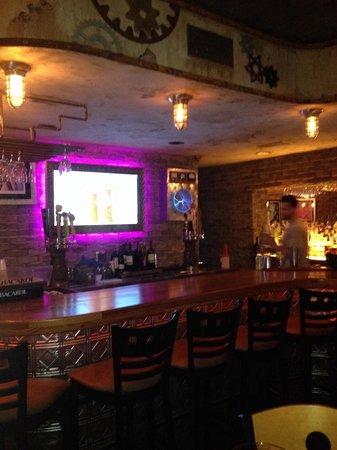 Grind Gastropub: Inside bar at Gastropub