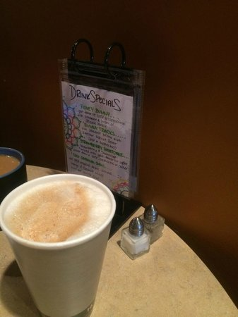 The Downtown Coffee Company : Cappuccino and Menu