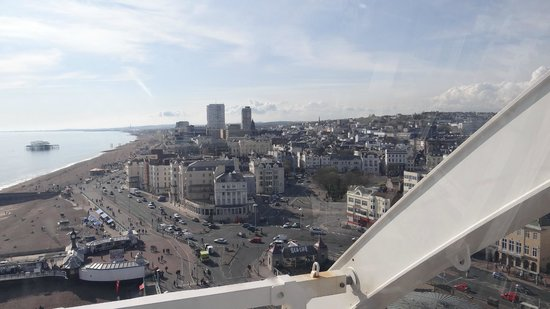 Queens Hotel : View from Brighton wheel
