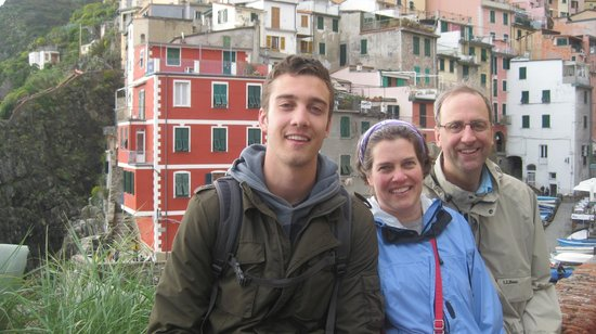 Walkabout Florence Tours: Lyle, Becky, and Andy on the Cinque Terre Trek