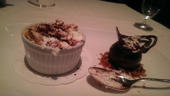 Prime Steakhouse : yum under cooked souffle