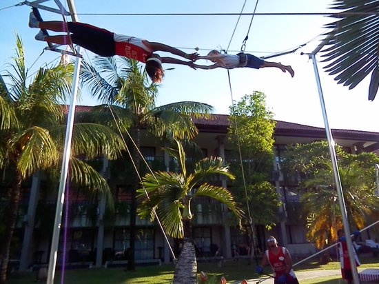 High Flyers Bali Trapeze School: I really can fly