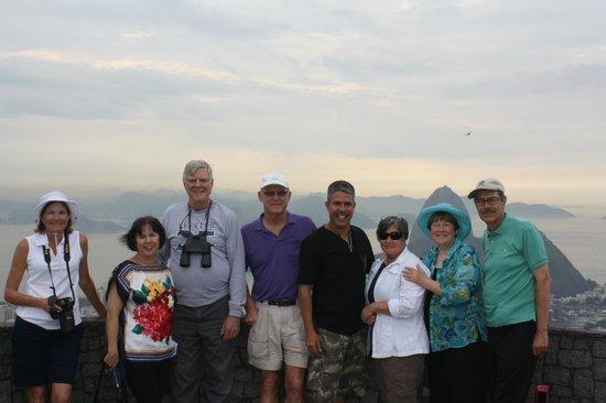 Manu Peclat - Rio Tour Guide : manu 4th from right