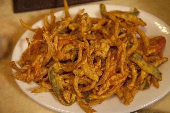 Yak The Kathmandu Kitchen: VEGETABLE PAKORAS