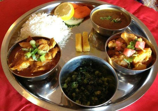 Yak The Kathmandu Kitchen: THALI
