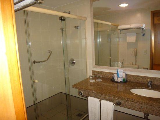 Brasil 21 Suites: Vista do Banheiro