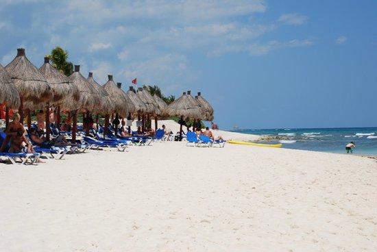 Grand Bahia Principe Tulum : beach