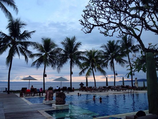 Rama Candidasa Resort & Spa : Beautiful pool areA