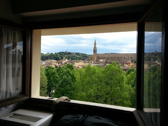 Hotel Bodoni: View from room 24