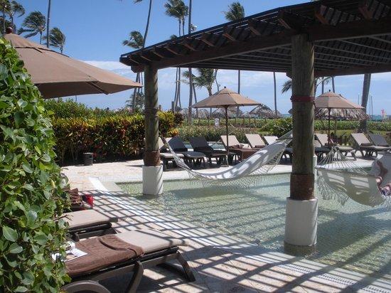 Secrets Royal Beach Punta Cana: Preferred Club Hammocks & Pool Area