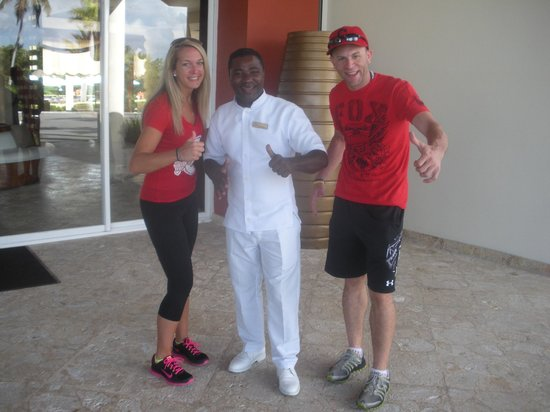 Secrets Royal Beach Punta Cana: Constant . . . Our favorite butler!  Made our stay even more enjoyable.