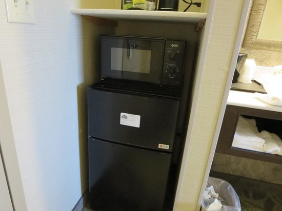 Country Inn & Suites By Carlson, San Carlos: Mini Fridge and Microwave