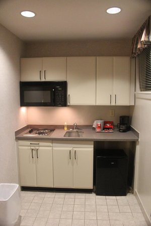 Federal City Inn & Suites: Kitchenette