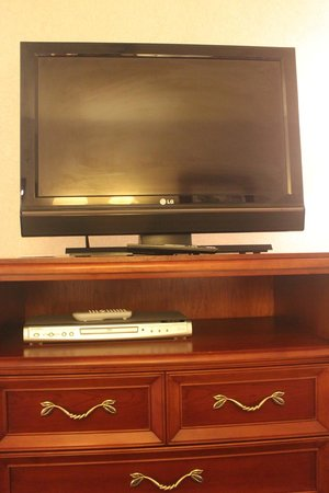 Federal City Inn & Suites: 32 inch LCD TV