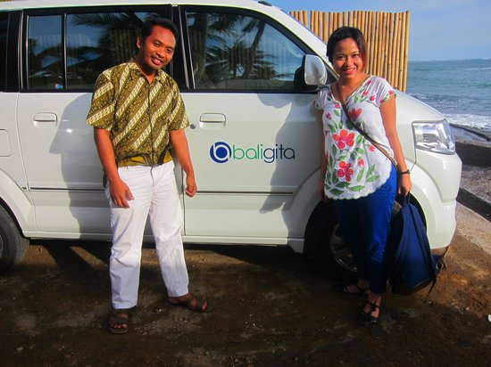 Cheap Bali Driver - Day Tours: lil sis with made.