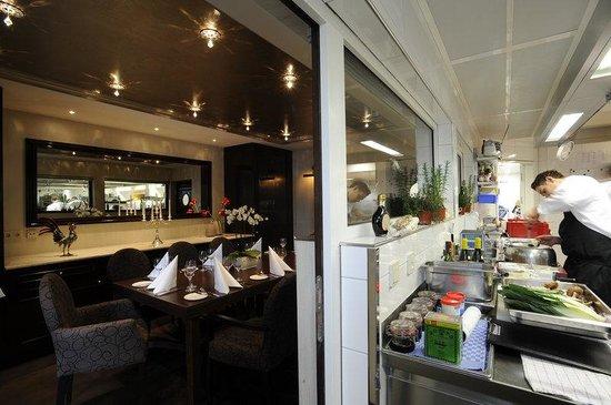Wald & Schlosshotel Friedrichsruhe: Chef's Table Room