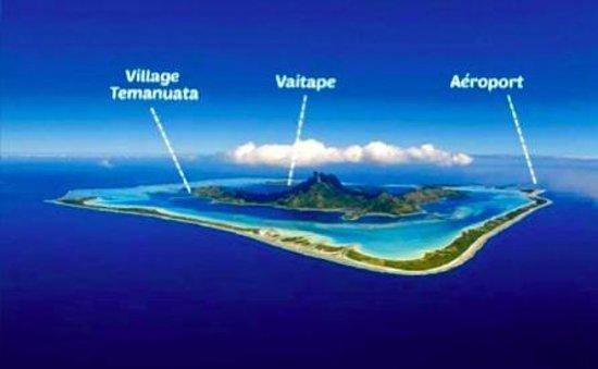Island View Picture Of Village Temanuata Bora Bora
