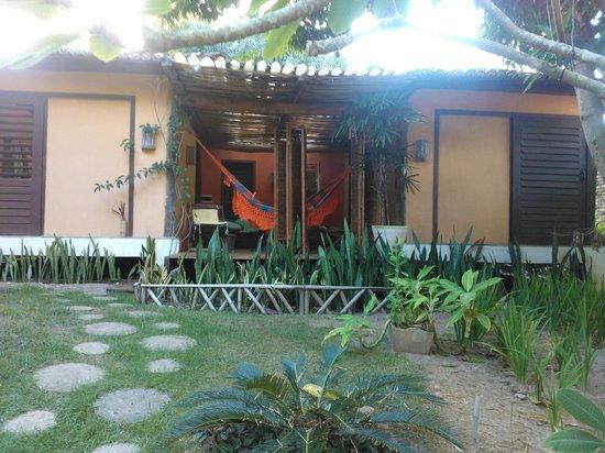 Pousada Berro do Jeguy: habitaciones al fondo del predio ideales para familia con hijos grandes