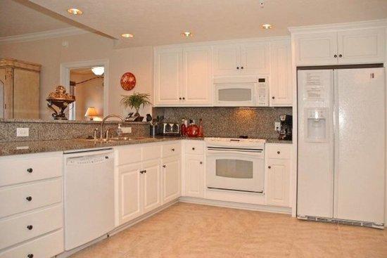Treasure Island Resort Condominiums: Unit 603 kitchen