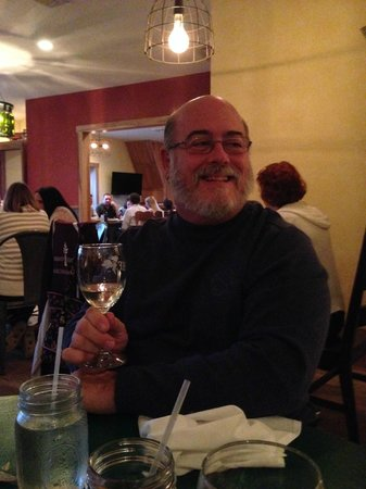 Heston Farm's Foxfire Restaurant: I enjoyed the wine - made right there at the Winery