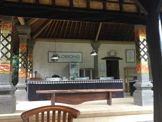 Lobong Culinary Experience: Cooking area