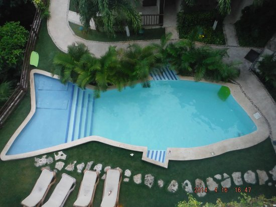 Hotel Posada Sian Ka'an: Pool