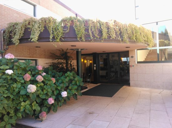 Sangallo Park Hotel : Entrada del hotel