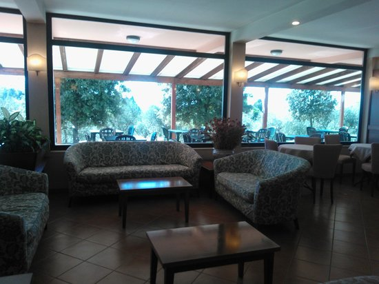 Sangallo Park Hotel: Recepción
