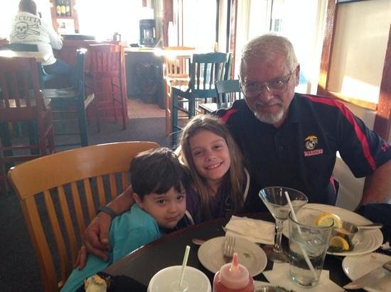 Toucan Grill: me and the grand kids