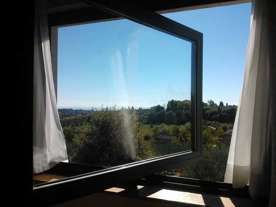 Sangallo Park Hotel: vista desde la ventana de la habitación