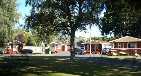 Whanganui River Top 10 Holiday Park : Park Motels