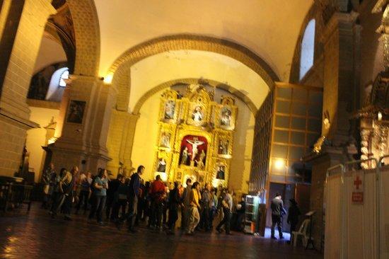 Catedral del Cuzco o Catedral Basílica de la Virgen de la Asunción: Um dos diversos altares