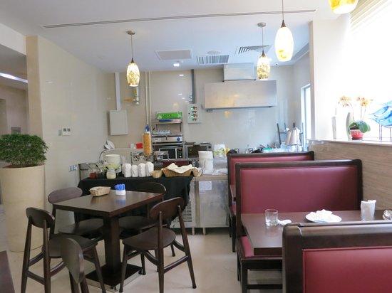 Hotel Clover 5 HongKong Street: breakfast room