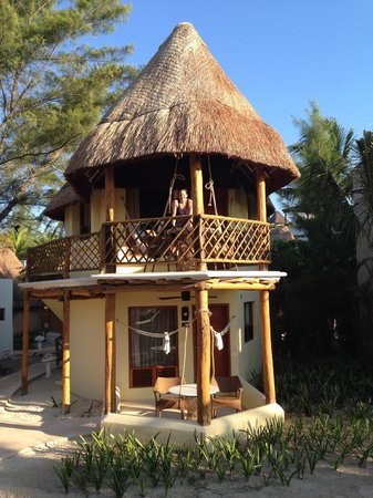 Mahekal Beach Resort: Our Ocean view Palapa